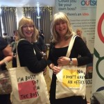 Sandy and Jane from PA To Go Ltd on International Women's Day event