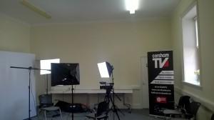 Corsham TV set