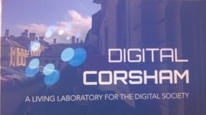 DIgital Corsham outside sign reflections